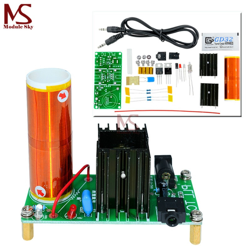 Best ideas about DIY Tesla Coil Kit . Save or Pin DIY Mini Tesla Coil Kit 15W Mini Music Tesla Coil Plasma Now.