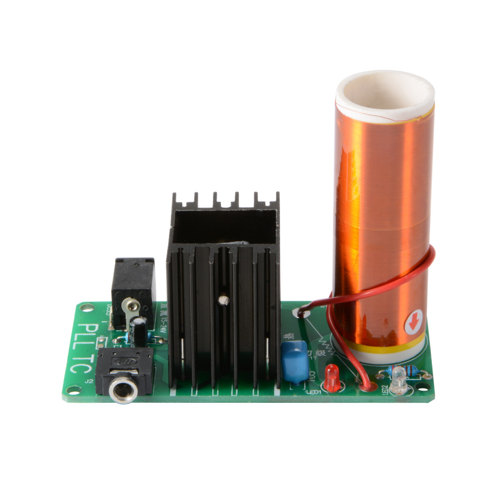 Best ideas about DIY Tesla Coil Kit . Save or Pin 15 24V DIY Mini Tesla Coil Kit 15W Speaker Transmission Now.