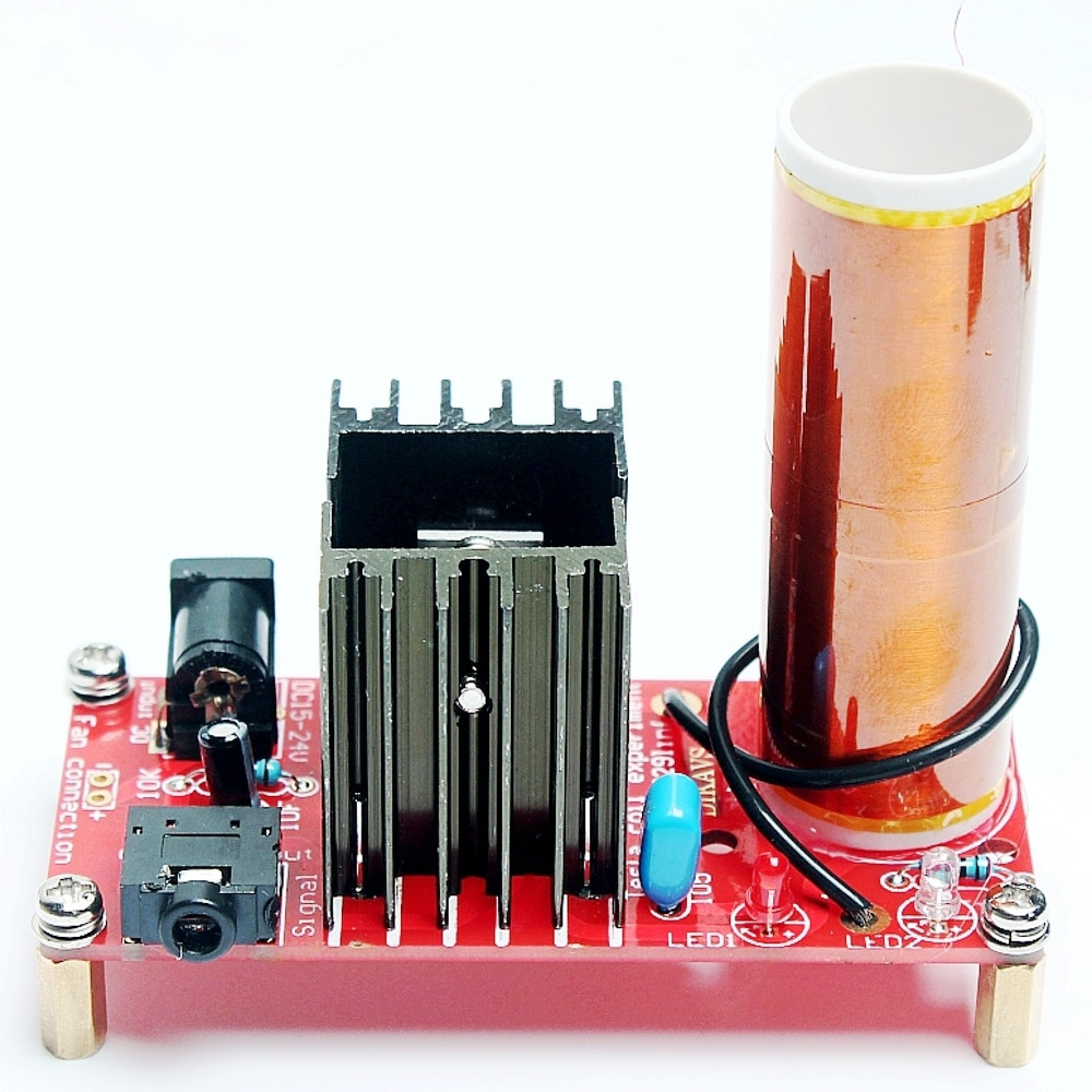 Best ideas about DIY Tesla Coil Kit . Save or Pin DIY Mini Tesla Coil Kit Music Tesla Coil Wireless Now.
