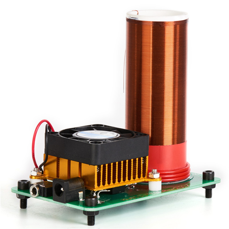 Best ideas about DIY Tesla Coil Kit . Save or Pin DIY Mini Music Tesla's Coil Kit Field Loudspeaker Low Now.