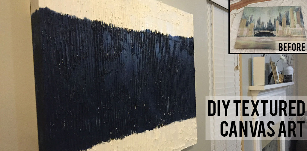 Best ideas about DIY Textured Paint . Save or Pin Textured Canvas Wall Art Now.