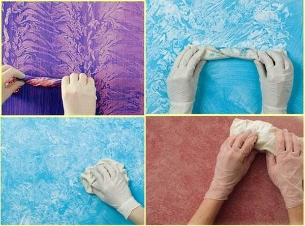 Best ideas about DIY Textured Paint . Save or Pin DIY Wall Painting Ideas to Create Faux Paint Finish in Now.
