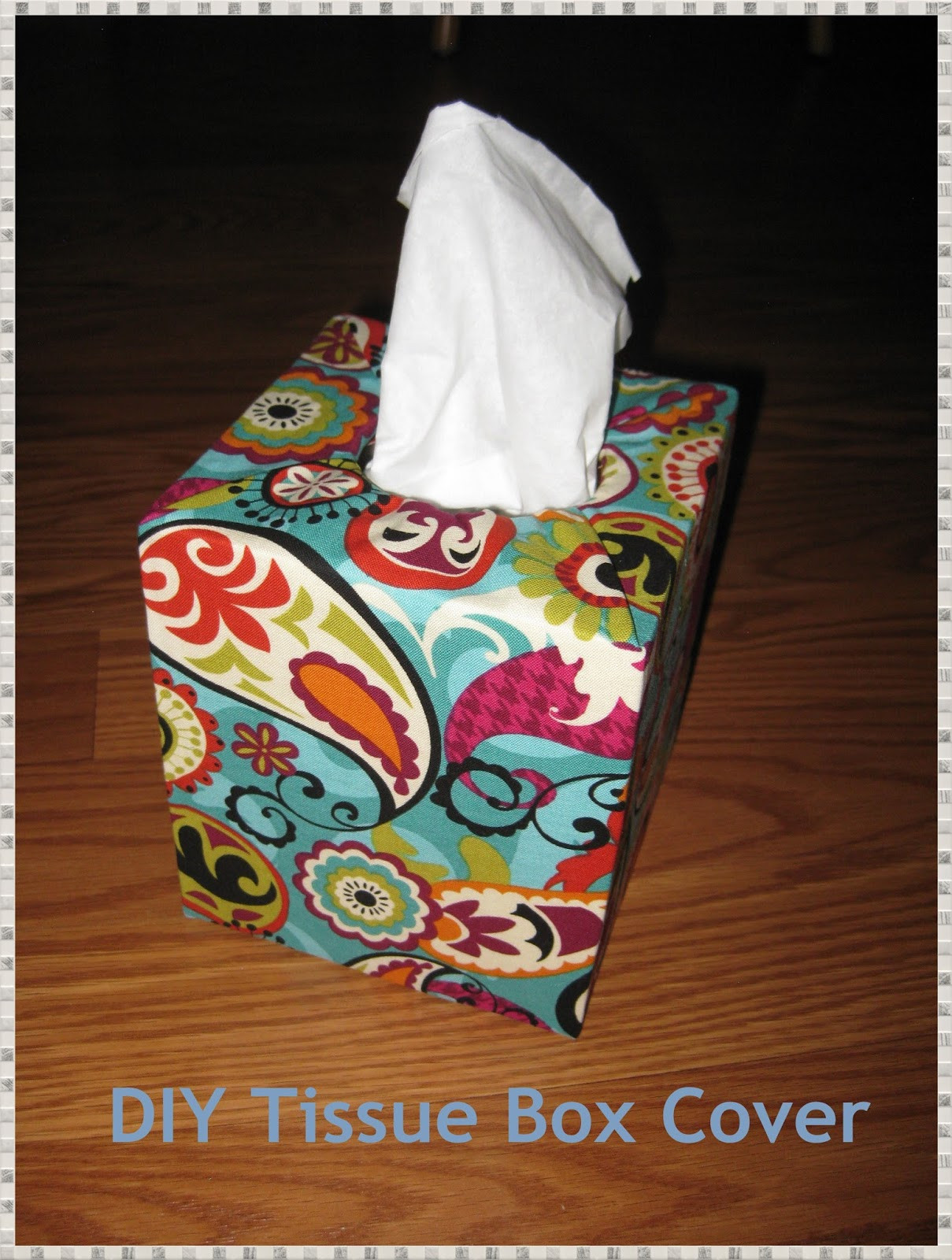 Best ideas about DIY Tissue Box . Save or Pin Ready Set Be Crafty DIY Tissue Box Cover Now.