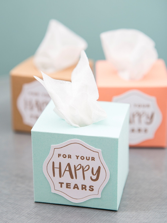 Best ideas about DIY Tissue Box . Save or Pin These Mini Wedding Tissue Boxes Are A MUST Make DIY Project Now.
