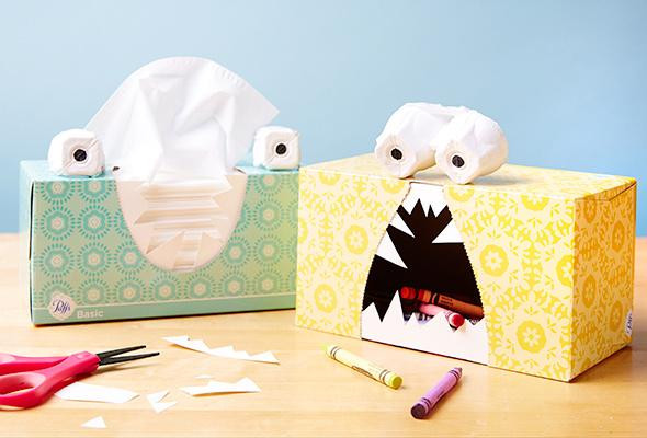 Best ideas about DIY Tissue Box . Save or Pin 3 DIY Tissue Box Holders – P&G everyday Now.