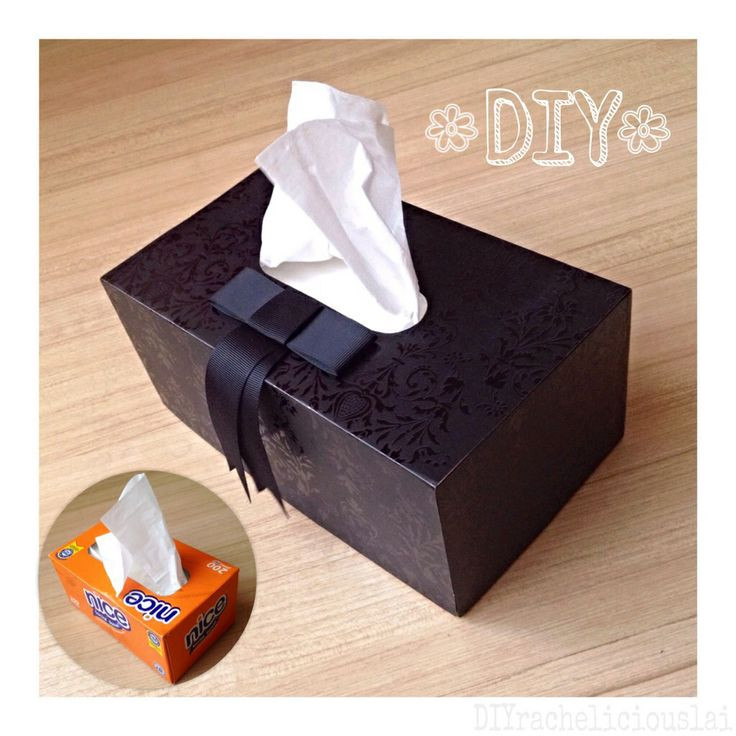 Best ideas about DIY Tissue Box . Save or Pin DIY Tissue Box Cover racheliciousDIY Pinterest Now.