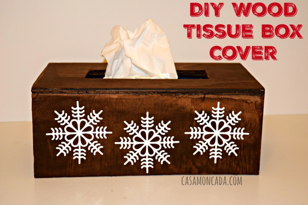 Best ideas about DIY Tissue Box . Save or Pin DIY Wood Tissue Box Cover Now.