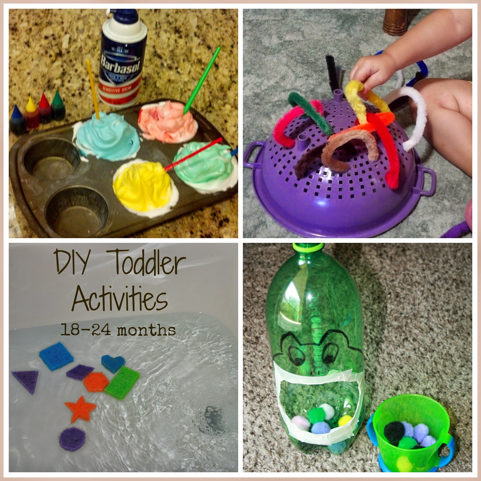 Best ideas about DIY Toddler Activities . Save or Pin Hassle Free Housewife Easy Educational Activities for Now.