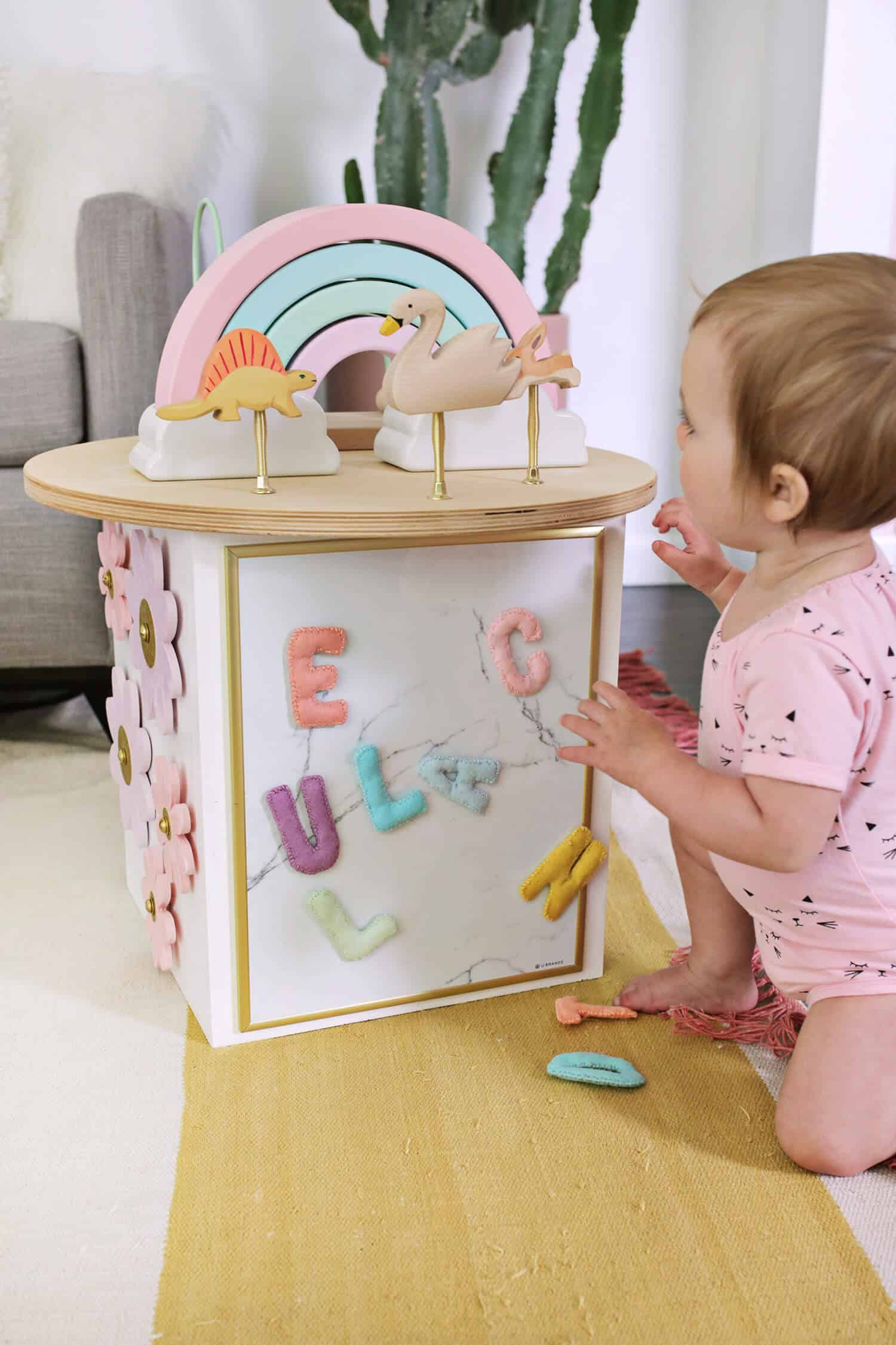 Best ideas about DIY Toddler Activities . Save or Pin Toddler Activity Center DIY A Beautiful Mess Now.