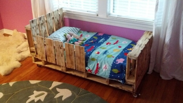 Best ideas about DIY Toddler Bed . Save or Pin 5 Simple DIY Pallet Toddler Beds Now.