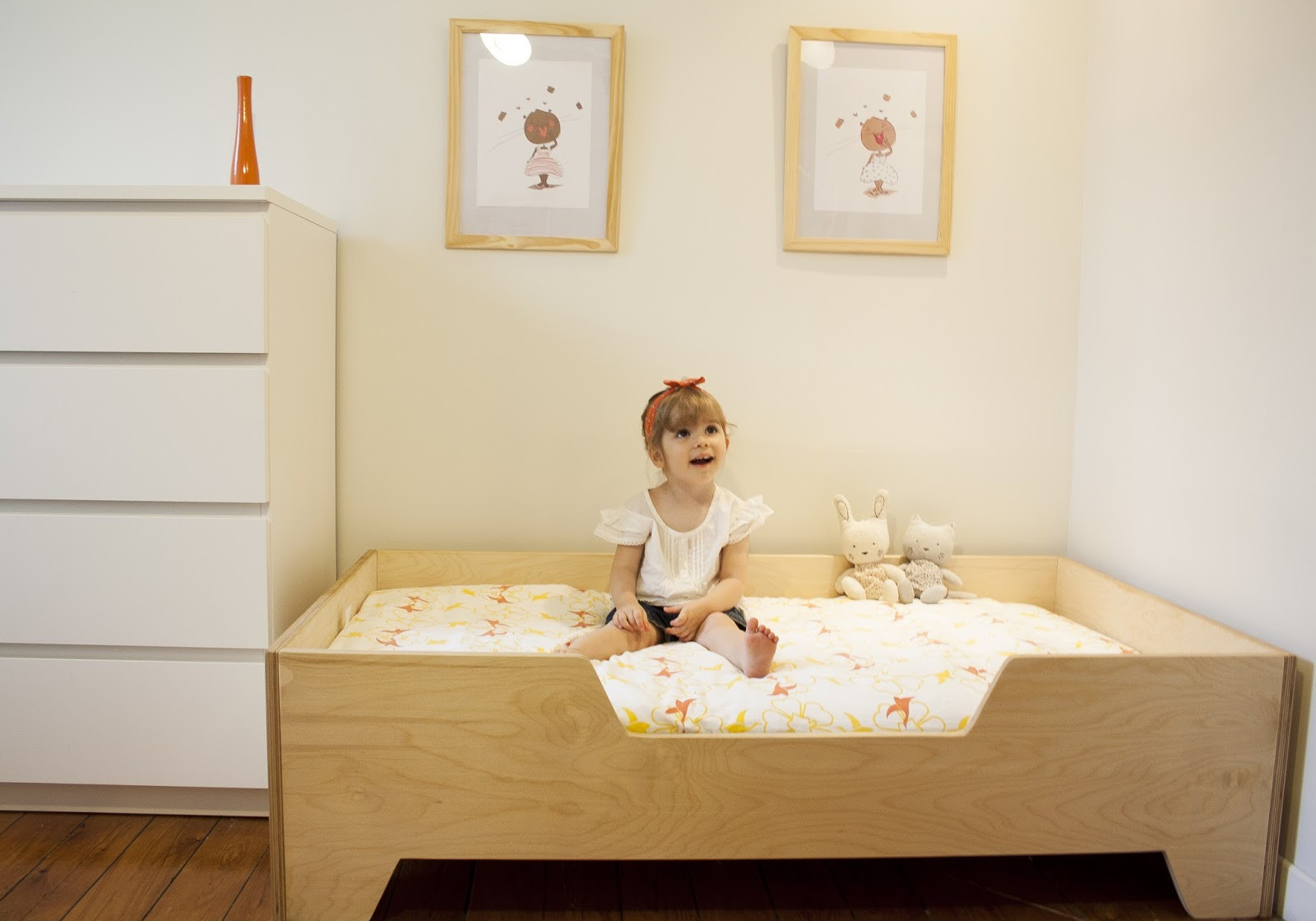 Best ideas about DIY Toddler Bed . Save or Pin DIY Projects DIY Toddler bed with birch plywood Now.