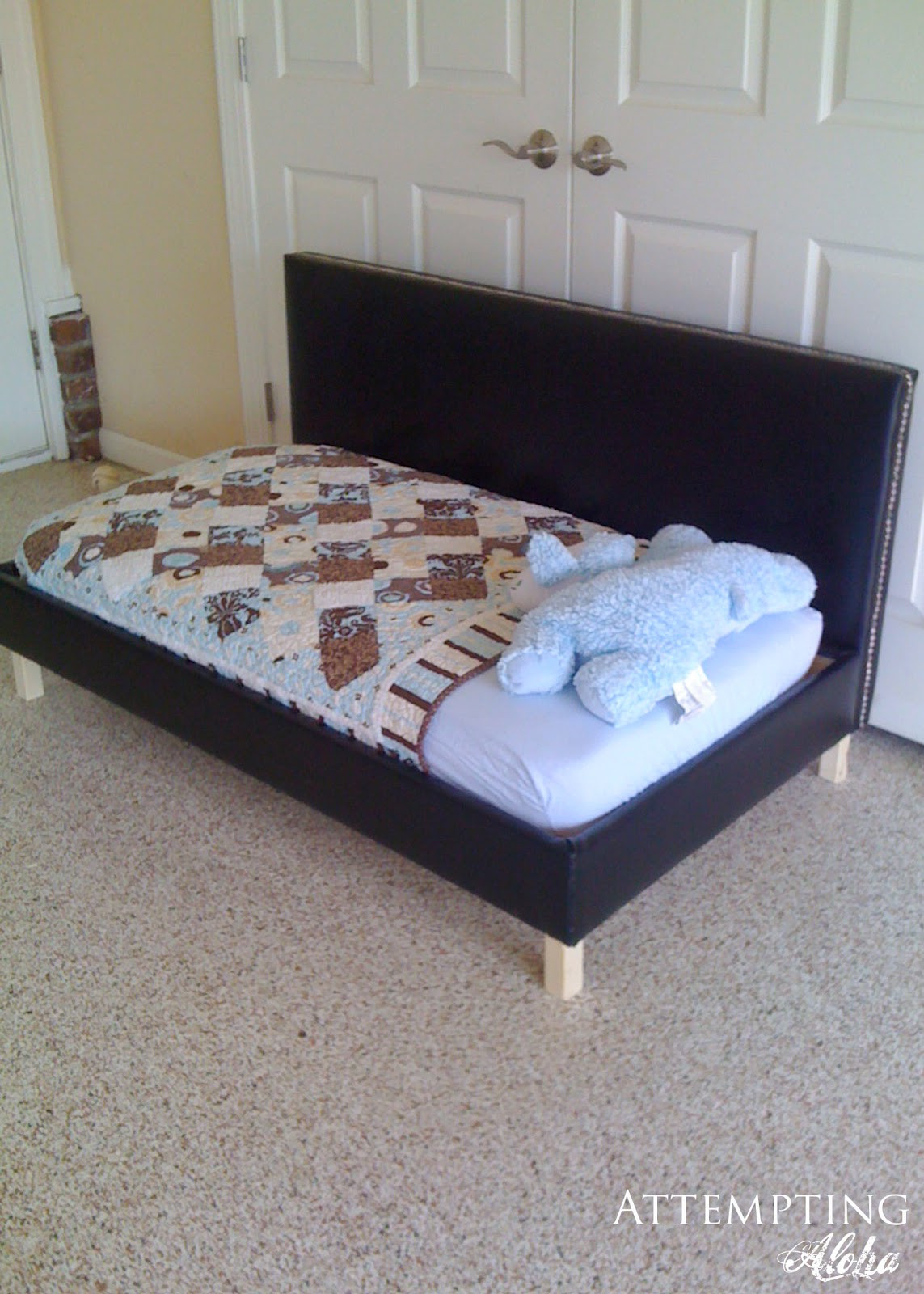 Best ideas about DIY Toddler Bed . Save or Pin Now.