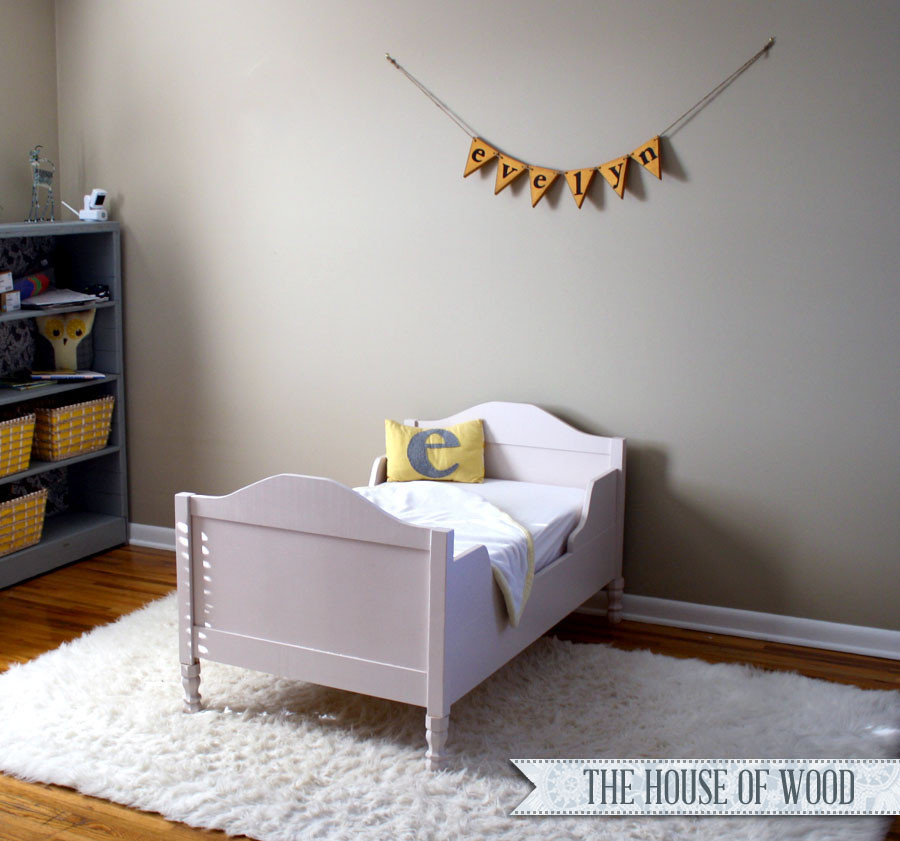 Best ideas about DIY Toddler Bed . Save or Pin DIY Restoration Hardware inspired Toddler Bed Now.