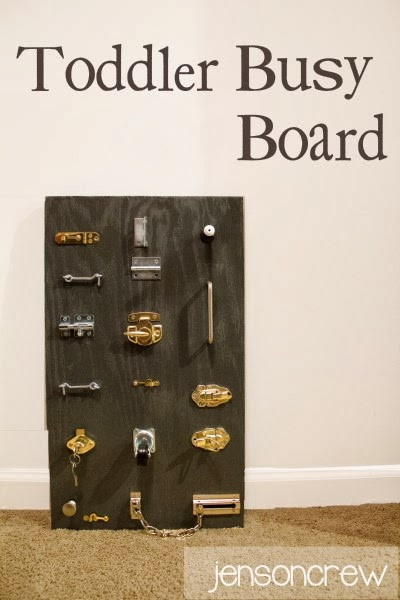Best ideas about DIY Toddler Busy Board . Save or Pin 35 Cool And Easy DIY Busy Boards For Toddlers Shelterness Now.
