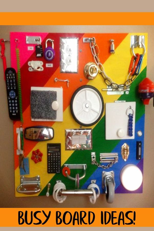 Best ideas about DIY Toddler Busy Board . Save or Pin NEW Sensory Board PICTURES 16 DIY Toddler Busy Boards Now.