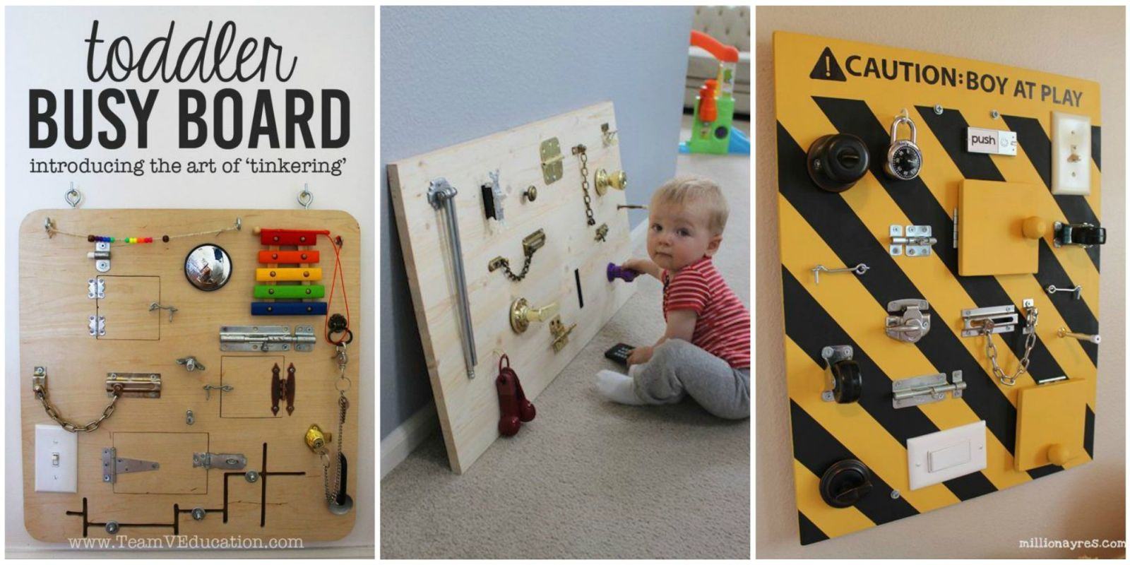 Best ideas about DIY Toddler Busy Board . Save or Pin This DIY Toddler Busy Board Will Keep Little es Busy for Now.