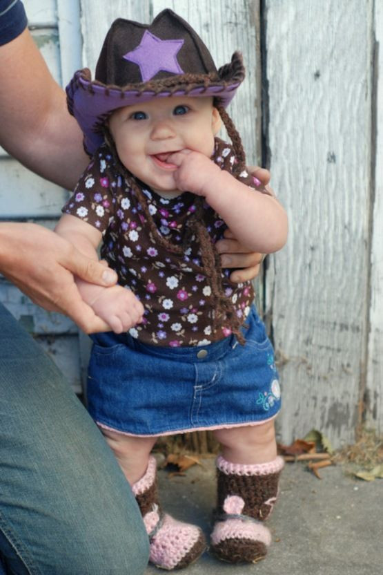 Best ideas about DIY Toddler Cowboy Costume . Save or Pin 20 DIY baby halloween costumes Now.
