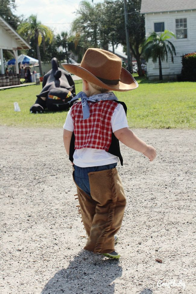 Best ideas about DIY Toddler Cowboy Costume . Save or Pin Halloween DIY Cowboy Costume for Toddlers Now.