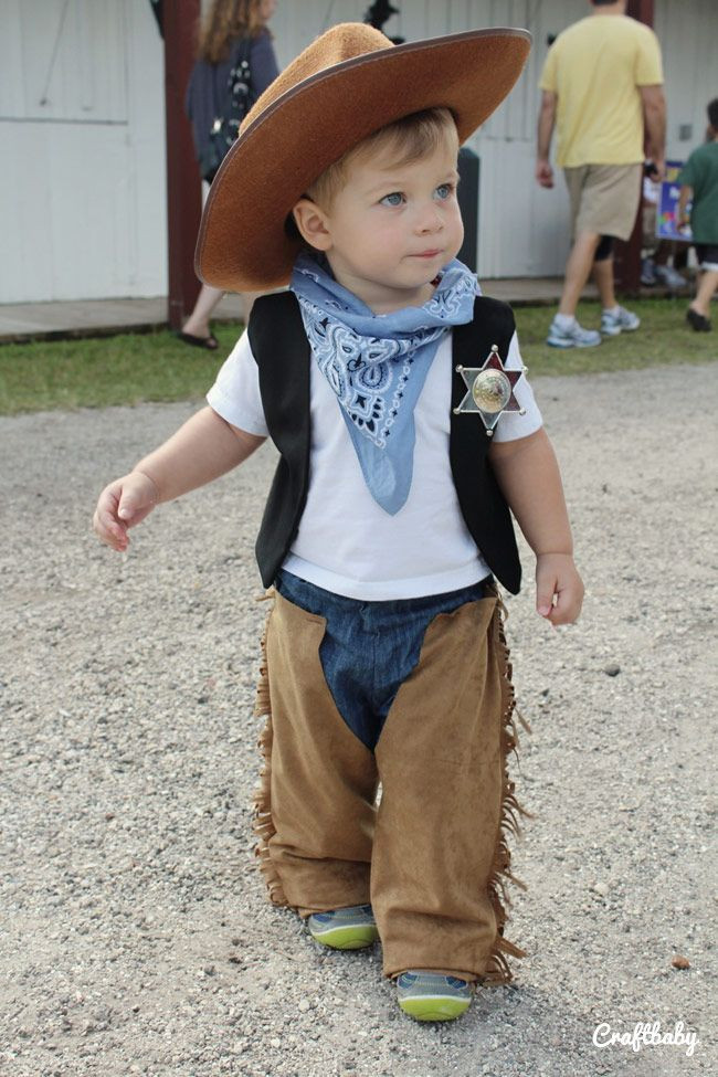 Best ideas about DIY Toddler Cowboy Costume . Save or Pin Craftbaby Now.