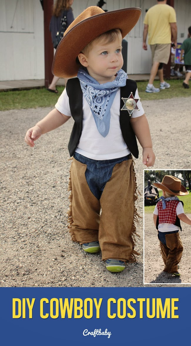Best ideas about DIY Toddler Cowboy Costume . Save or Pin This is how we Mommy Tuesday s Time Out To DIY Now.