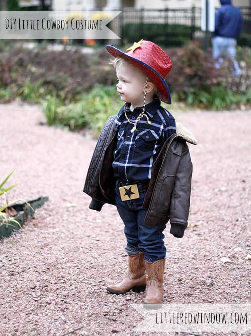 Best ideas about DIY Toddler Cowboy Costume . Save or Pin DIY Little Cowboy Costume Little Red Window Now.