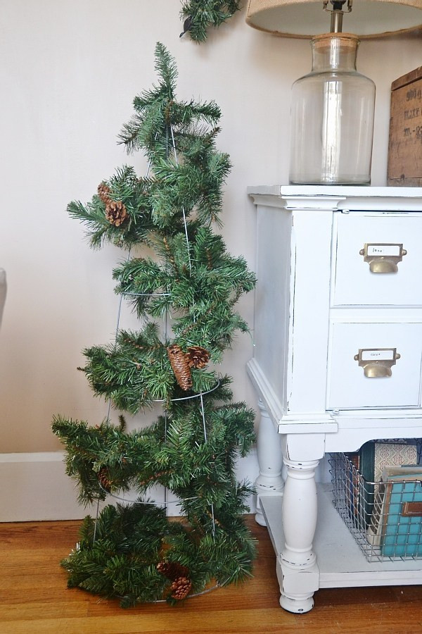 Best ideas about DIY Tomato Cage Christmas Tree . Save or Pin DIY Rustic Tomato Cage Christmas Trees Liz Marie Blog Now.
