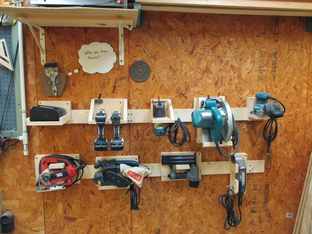 Best ideas about DIY Tool Organization . Save or Pin DIY Power Tool Storage System Wilker Do s Now.