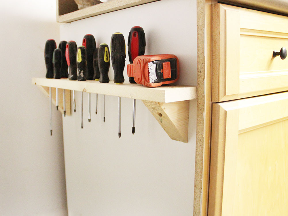 Best ideas about DIY Tool Organization . Save or Pin DIY Screwdriver Storage Now.