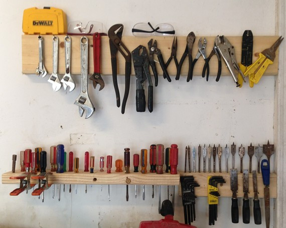 Best ideas about DIY Tool Organization . Save or Pin 12 Brilliant Tool Organization Ideas Her Tool Belt Now.