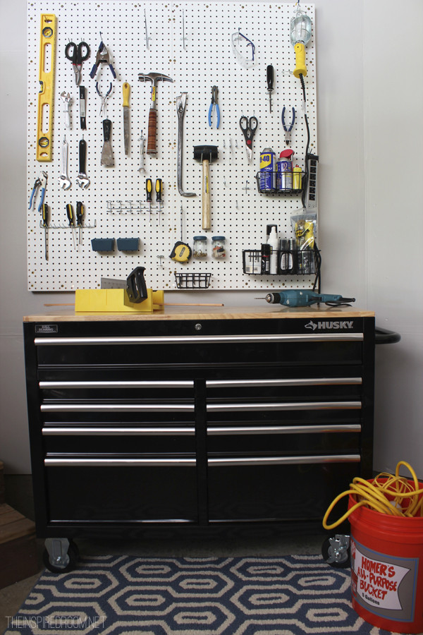 Best ideas about DIY Tool Organization . Save or Pin Fall Nesting DIY Pegboard & Tool Organization for Now.