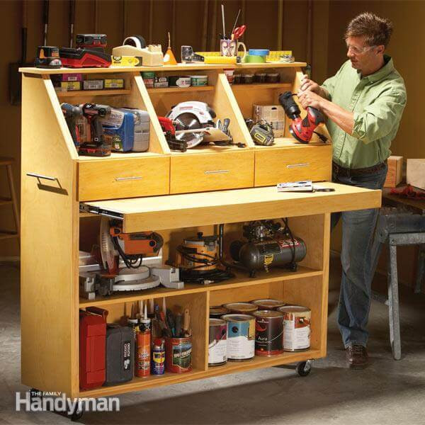 Best ideas about DIY Tool Organization . Save or Pin 14 Power Tool Storage Ideas So You Never Lose Them Again Now.