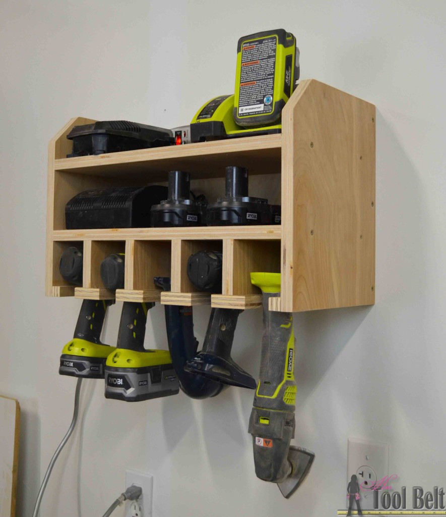 Best ideas about DIY Tool Organization . Save or Pin Cordless Drill Storage Charging Station Her Tool Belt Now.