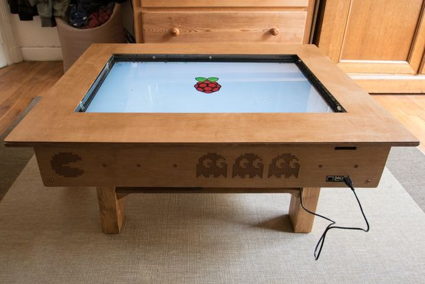 """Best ideas about DIY Touchscreen Table . Save or Pin Touch Screen Coffee Table DIY With 32"""" TV and Low Cost CCD Now."""