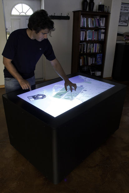 Best ideas about DIY Touchscreen Table . Save or Pin DIY MT 50 Multitouch Table Now.