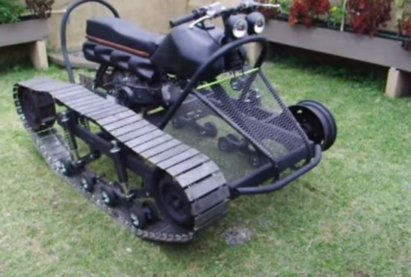 Best ideas about DIY Tracked Vehicle . Save or Pin An Amazing DIY Tracked Survival Vehicle Now.