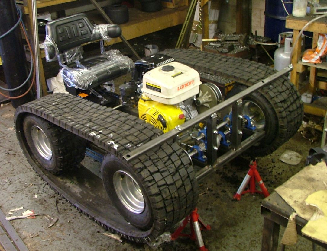 Best ideas about DIY Tracked Vehicle . Save or Pin chenillette homemade Recherche Google Now.