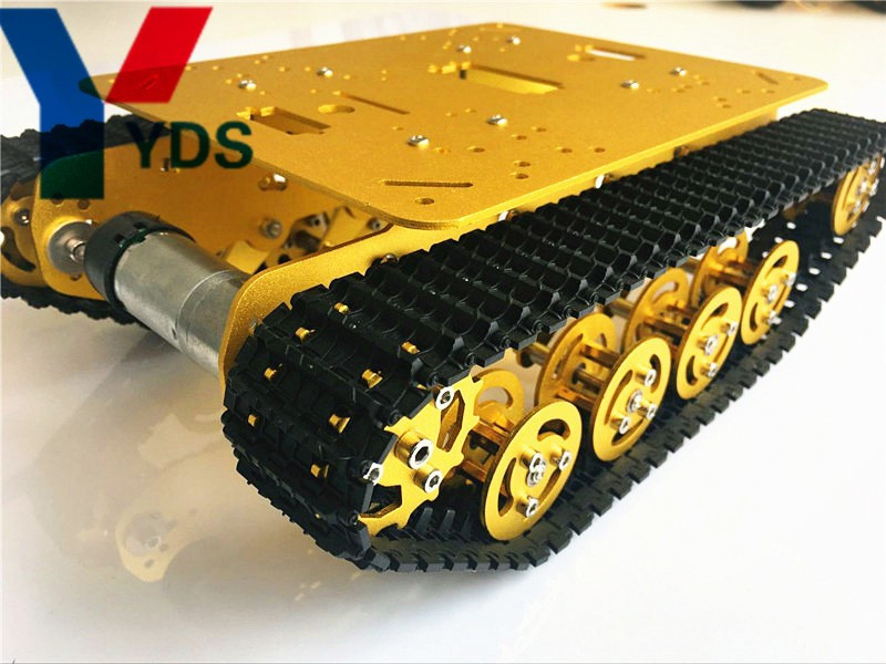 Best ideas about DIY Tracked Vehicle . Save or Pin YDS TS100 tank chassis model with two motor 2wd crawler Now.