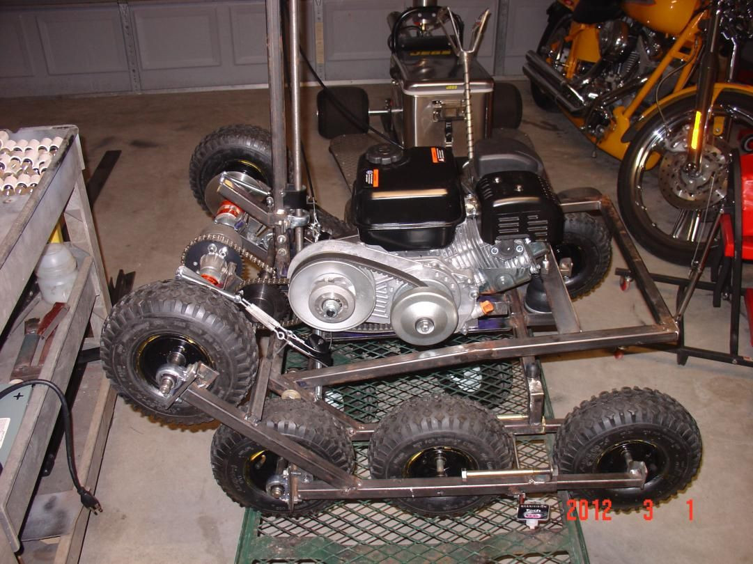 Best ideas about DIY Tracked Vehicle . Save or Pin Pin by larry lee on Magic Carpet Stand up kart Now.
