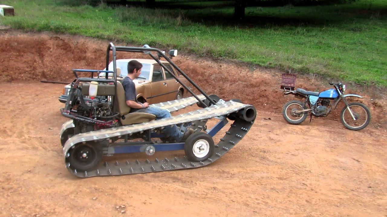 Best ideas about DIY Tracked Vehicle . Save or Pin Tracked vehicle First test drive Now.