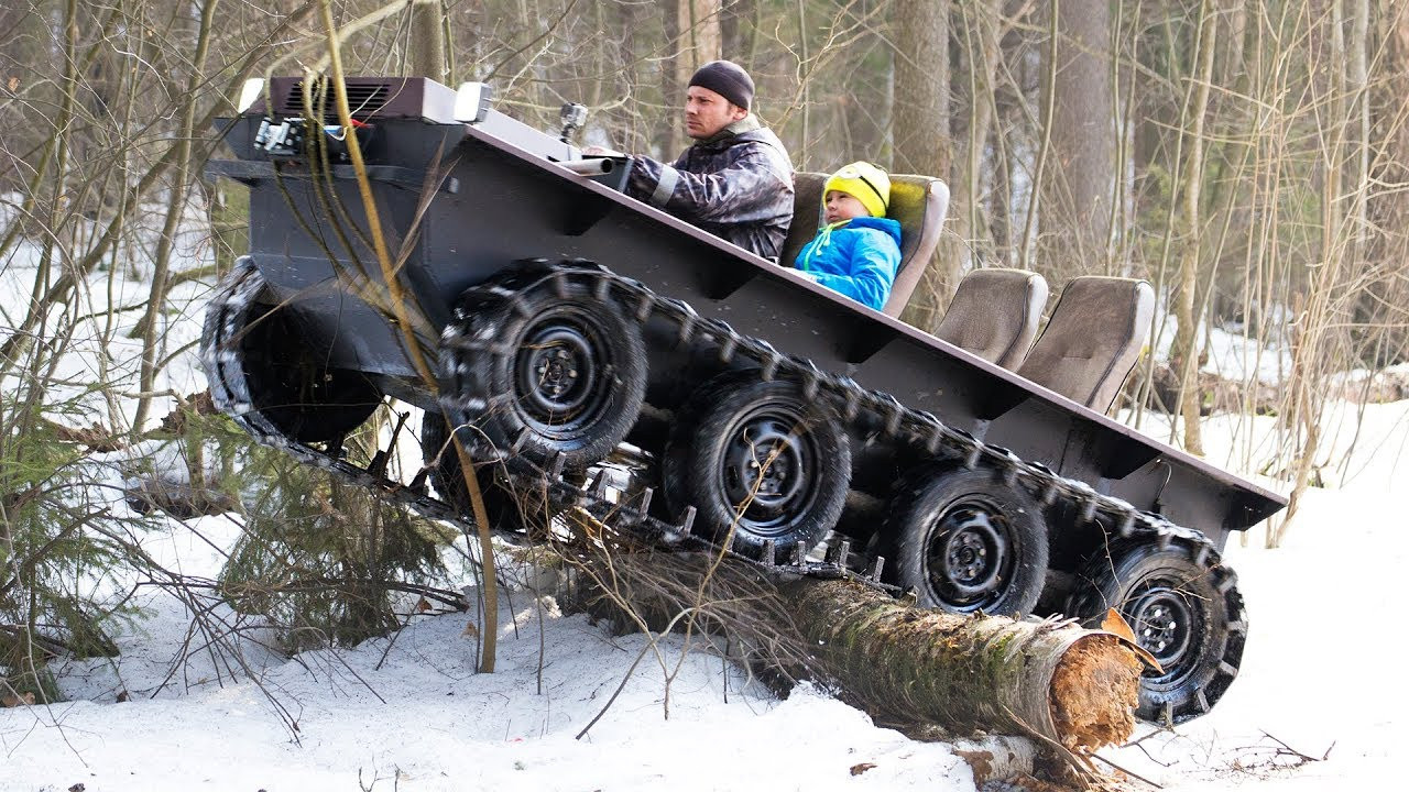Best ideas about DIY Tracked Vehicle . Save or Pin DIY tracked ATV $1000 cost Hardest tests Now.