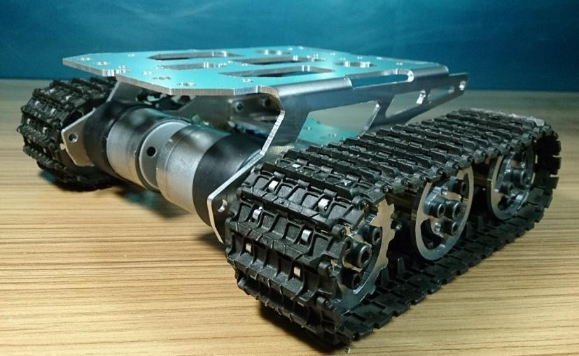 Best ideas about DIY Tracked Vehicle . Save or Pin Rc Metal Tank Chassis Robot Crawler Tracked Tank Chassis Now.