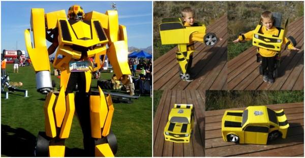 Best ideas about DIY Transformer Costume . Save or Pin DIY Transformer Costume Now.
