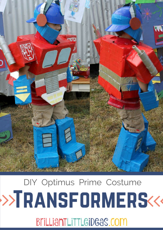 Best ideas about DIY Transformer Costume . Save or Pin DIY Optimus Prime Transformer Costume Now.