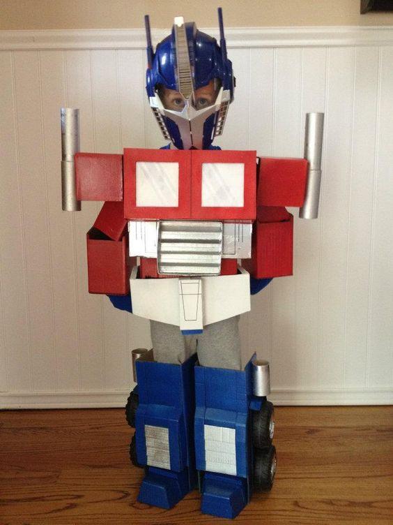 Best ideas about DIY Transformer Costume . Save or Pin Homemade Costumes and Transformer costume on Pinterest Now.