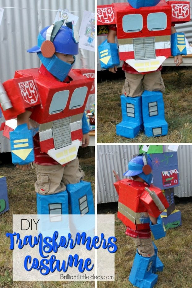 Best ideas about DIY Transformer Costume . Save or Pin 17 Totally Cool Transformers Party Ideas Spaceships and Now.