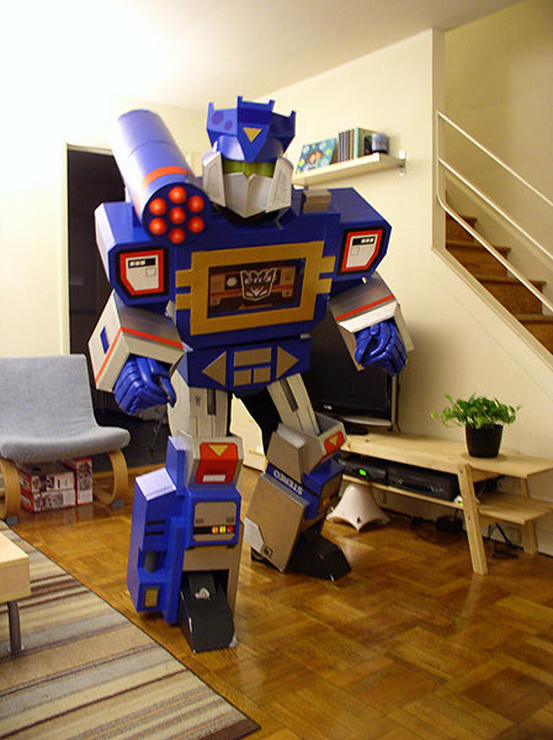 Best ideas about DIY Transformer Costume . Save or Pin How to Make Transformers Soundwave Costume DIY & Crafts Now.