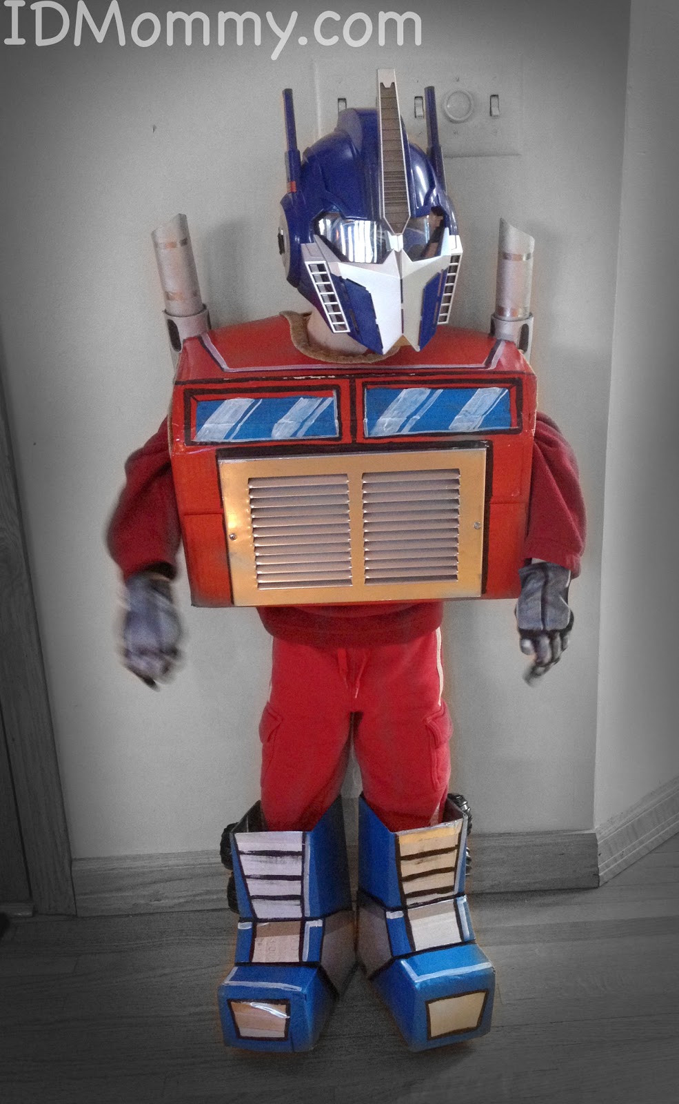 Best ideas about DIY Transformer Costume . Save or Pin ID Mommy DIY Mickey Mouse and Optimus Prime Transformer Now.