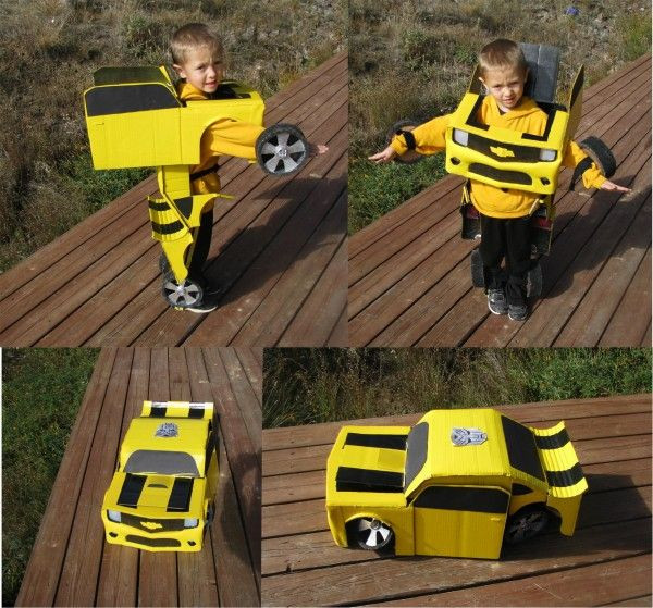 Best ideas about DIY Transformer Costume . Save or Pin You Will Never Make These Elaborate Homemade Halloween Now.