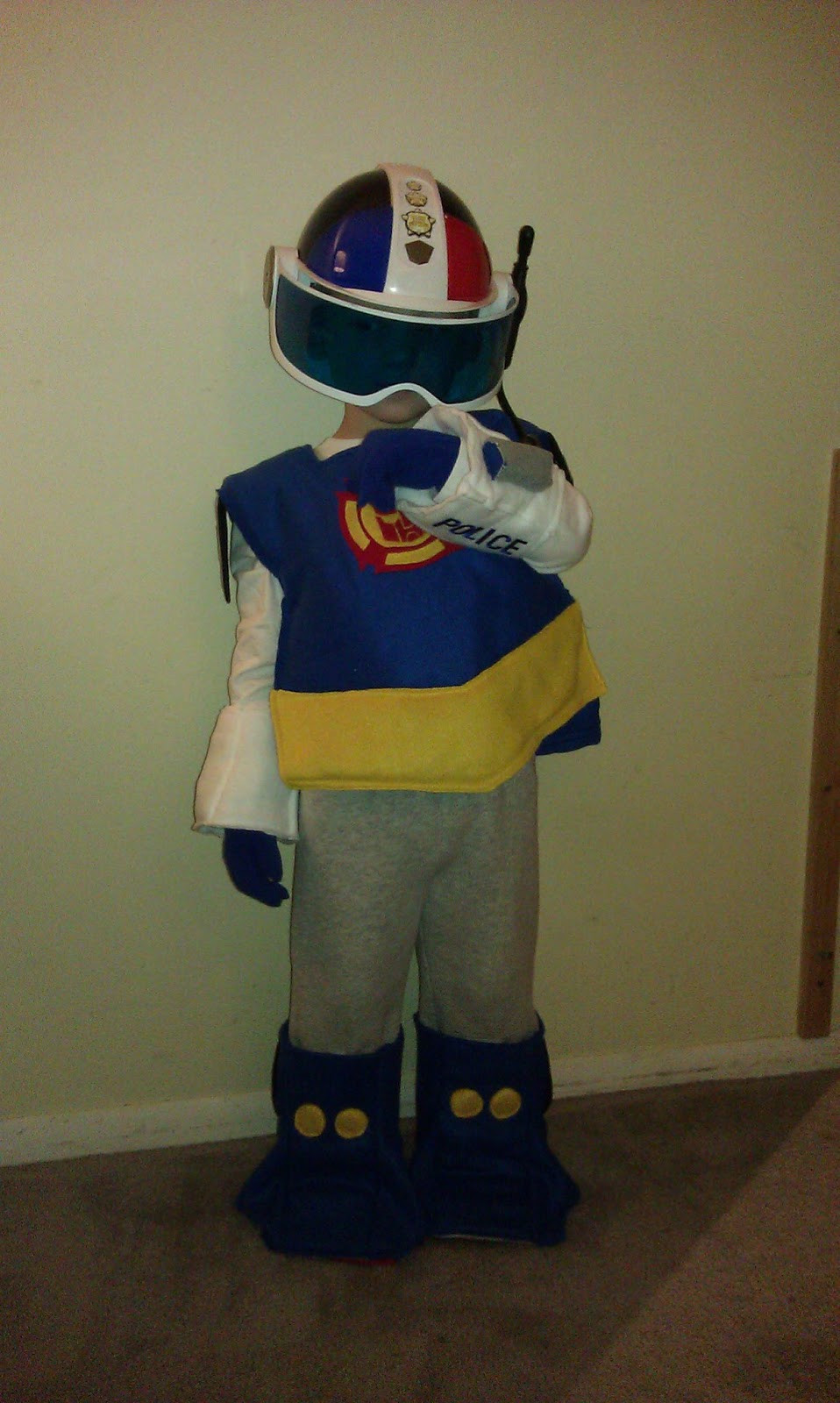 Best ideas about DIY Transformer Costume . Save or Pin Transformer Rescue Bot Costume DIY Now.