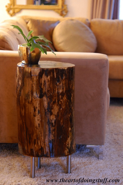 Best ideas about DIY Tree Stump Table . Save or Pin Stumped How to Make a Tree Stump Table Now.